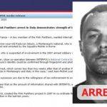 """Уапсен озлогласен член на """"Пинк Пантер"""" од Црна Гора за кражба на дијаманти во Токио"""