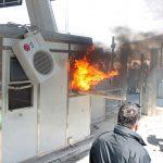 Им се заканува затвор на демонстрантите кои палеа кабини на автопатот во Албанија