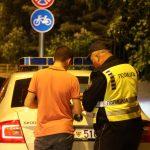 Полицијата викендов казнила 147 пијани возачи во Скопје