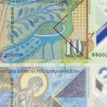 Од утре пластични банкноти од 10 и 50 денари, хартиените излегуваат од употреба