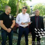 (Видео) Шестотини полициски приправници бараат униформа и плата