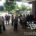 """Протест пред Врховен: """"Но Пасаран"""" побара одговорност од 44 судии за корумпирани пресуди во корист на БЕГ"""