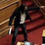 """Уапсен пратеникот на """"Златна зора"""" кој повика на воен удар"""