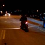 Полицијата спроведе акција против дивите трки на мотоциклисти во Скопје