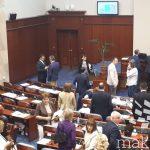 Пратениците повторно го изгласаа законот за ратификација на договорот со Грција, еден воздржан