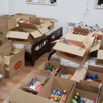 (Фото) Искра надеж во социјално ранливите семејства од Битола, Ротаракт Широк Сокак донираше 4 тони храна