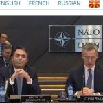"""Испратен допис до НАТО, се бара исправка за користењето на терминот """"македонски јазик"""""""