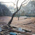 Државниот градежен инспекторат ќе урива на Матка, директорот Љимани го послуша министерот Сугарески