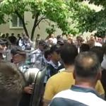 """Пцости и клевети на рочиштето за """"шлаканиците во Центар"""", се гледаат снимки од протестот во 2013 година"""