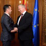 Амбасадорот Баздникин му предаде на Заев документ со кој Русија ја признава Северна Македонија