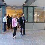 Шекеринска ги посети новите простории наменети за Северна Македонија во седиштето на НАТО