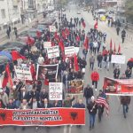 Протестен марш во Скопје против монтирани судски предмети