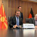 (Видео) Потпишан договорот за соработка во областа на борбата против криминалот меѓу Северна Македонија и Германија