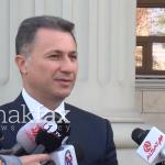 """Груевски нема да одговара за """"Траeкторија"""" поради застареност на делото"""