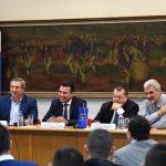 Заев: Безбедноста со членството во НАТО е основа за дополнителен економски раст