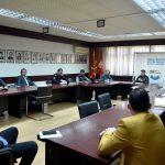 Состанок на кризниот штаб на Град Скопје