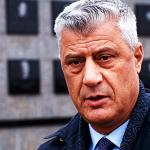 Тачи пристигна во Хаг на сослушување поради обвинението за воени злосторства
