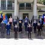 (Видео) Пендаровски го прими премиерот Заев и министрите во новата Влада
