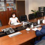 Маричиќ со претседателката на антикорупциската комисија разговараше за реформите во правосудството