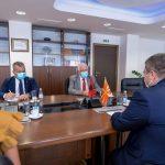 Mинистерот за правда на средба со албанскиот амбасадор