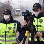 Казнети 182 возачи во Скопје, од кои 35 за брзо возење