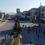 """Заврши протестот за """"Монструм"""", демонстрантите не успеаја да стигнат до судовите"""