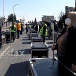 (Видео) Oрганизаторите на настани протестираа пред Владата: Наместо да пуштаме гласна музика, една година сме тивки