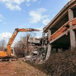 (Видео) Се отстранува нелегално изграден објект под Кале