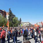 MВР: Нападнати полицајци на вчерашниот протест, приведени две лица