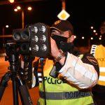 """За само 4 часа со т.н. ноќен радар """"фатени"""" 200 возачи кои возеле над дозволената брзина"""